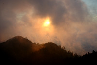Sunset in the Fog - Mt. LeConte